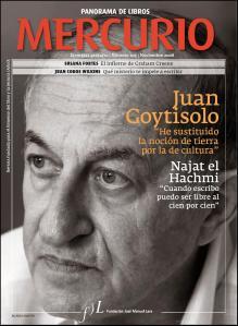Imagen de Jua Goytisolo en la revista Mercurio