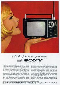 Imagen de un antiguo televisor de Sony