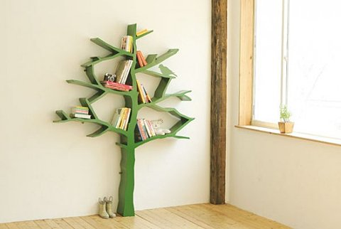 Imagen de estantería árbol