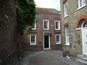 Imagen de la casa de Henry James