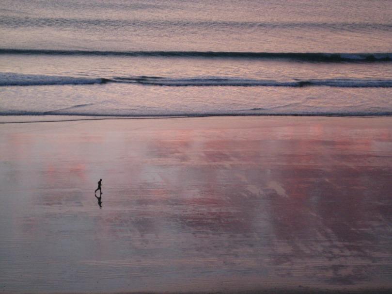 Imagen de la orilla del mar
