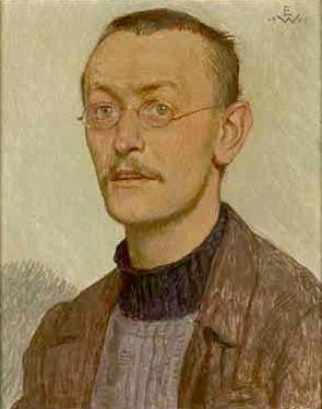 Imagen de Herman Hesse por Ernst Würtenberger