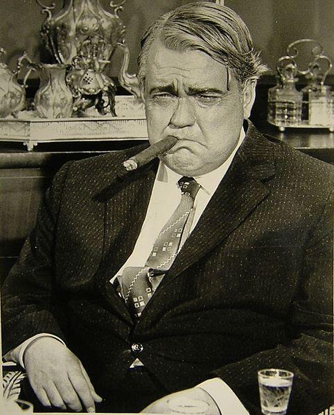 Imagen de Orson Welles caracterizado como Will Warner
