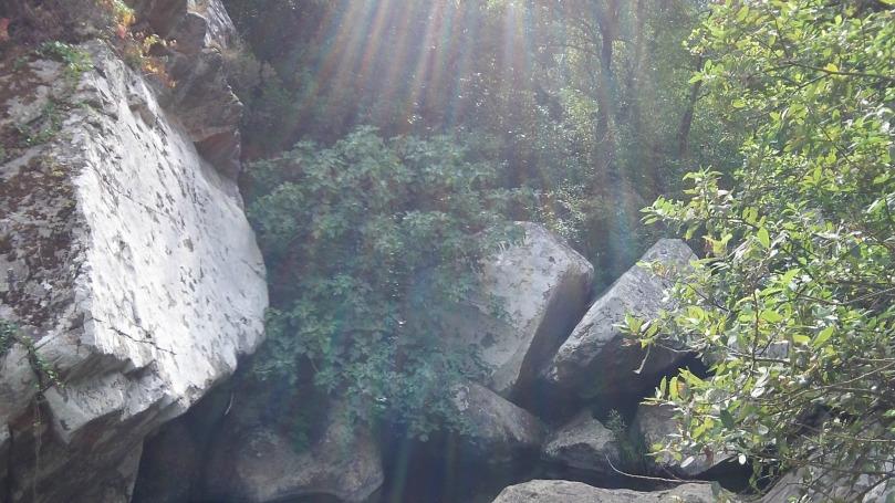 Imagen del arroyo del Tiradero