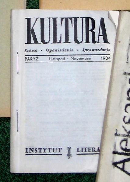 Imagen de una publicación del samizdat