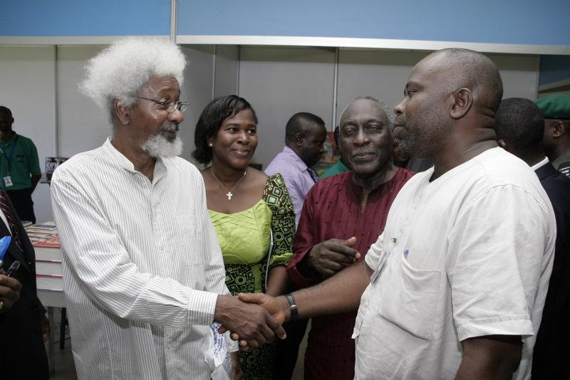 Imagen de Wole Soyinka, Chidi Anthony Opara y Kofi Awoonor