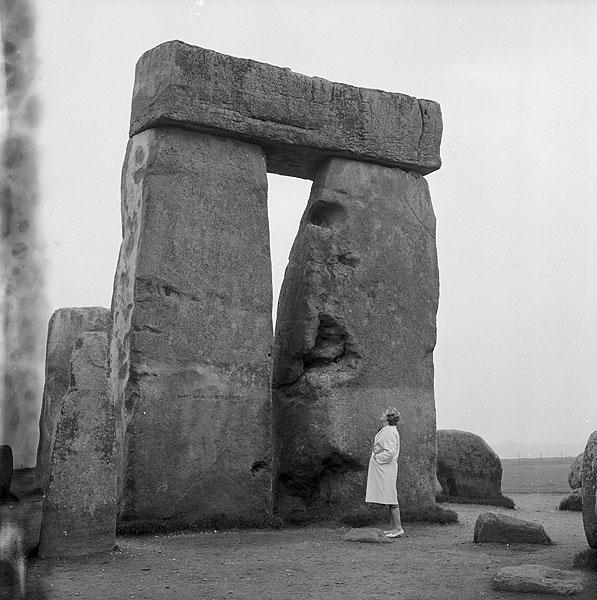 Imagen del conjunto megalítico de Stonehenge