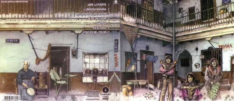 """Imagen del disco """"El patio"""" de Triana"""