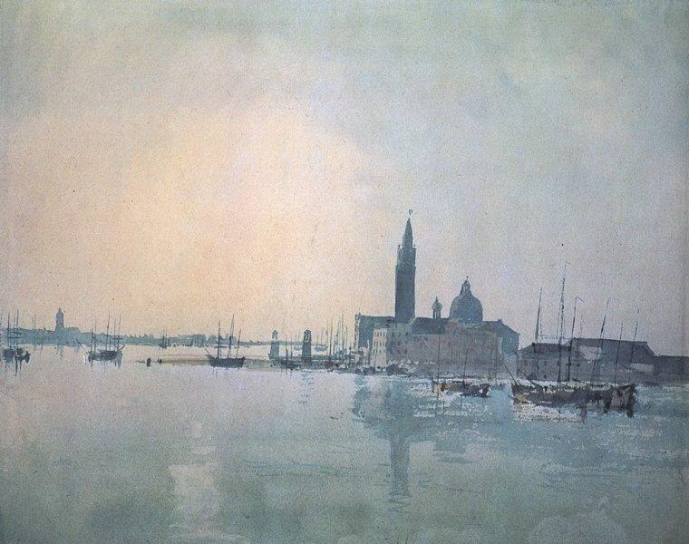 Imagen de San_Giorgio_Maggiore_at_Dawn por Turner