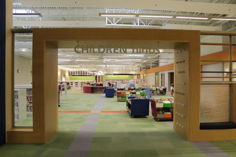 Imagen de la biblioteca pública de Mc Allen (Texas)