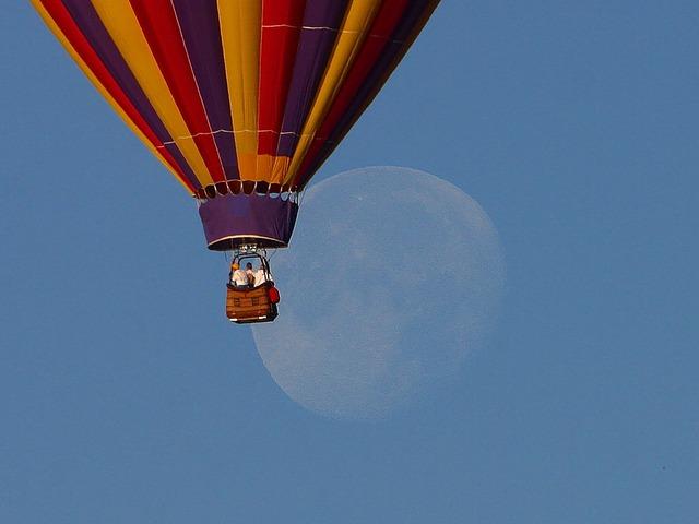 Imagen de un globo aerostático