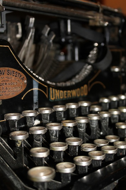 Imagen de máquina de escribir