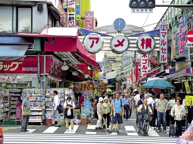 Imagen de una calle de Japón