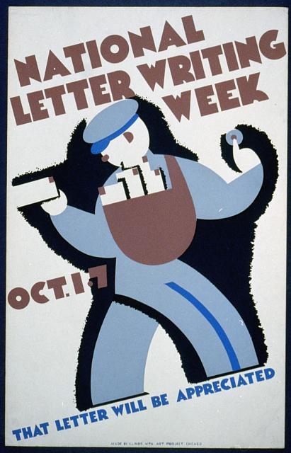 Imagen del correo postal
