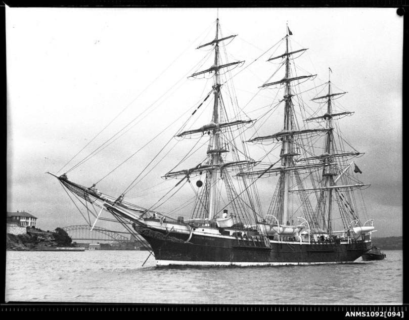 Imagen del buque Joseph Conrad