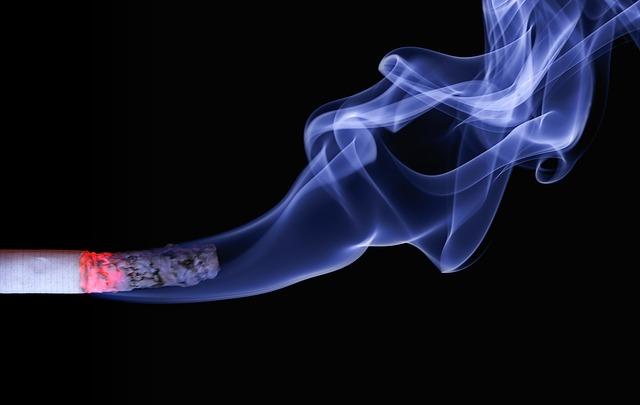 Imagen del humo