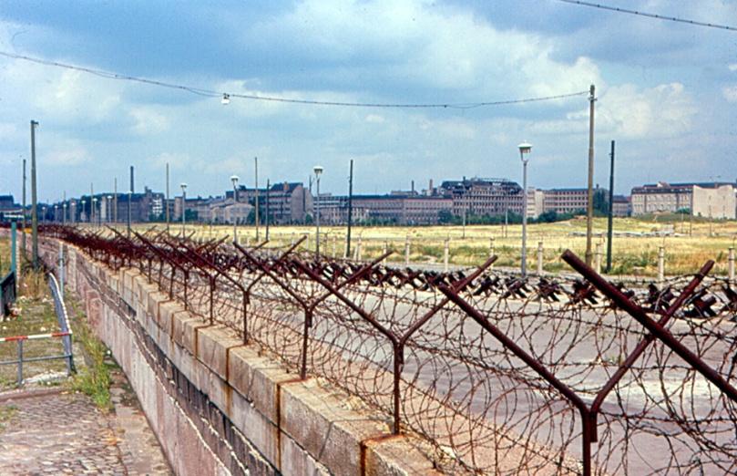 Imagen del muro de Berlin