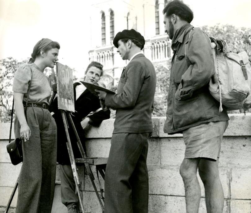 Imagen de Paris en 1949