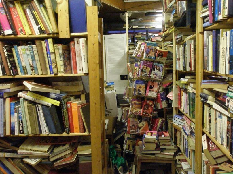 Imagen de libreria de viejo