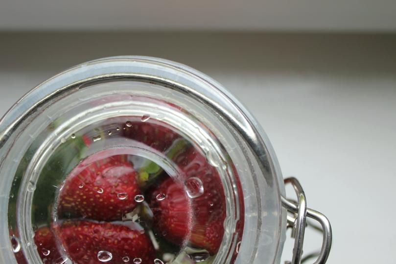 Imagen de frutas en conserva