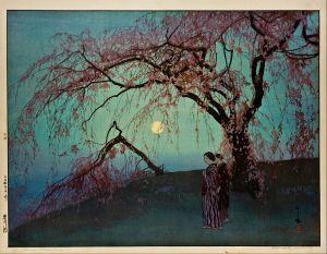 Hiroshi_Yoshida(Kumoi_Cherry_Trees)