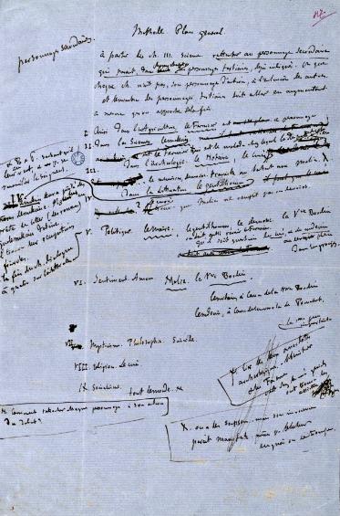 Notas-manuscritas-Flaubert