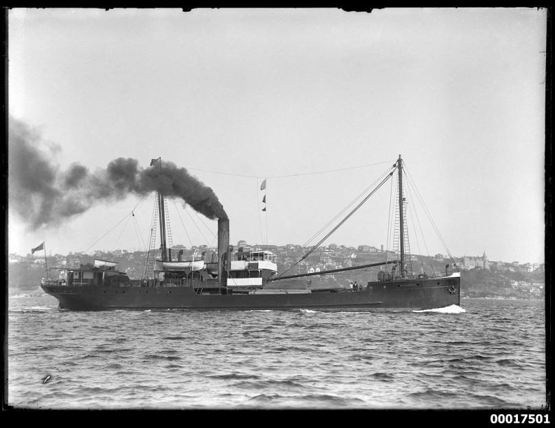 Coastal steamer Maianbar ANMM