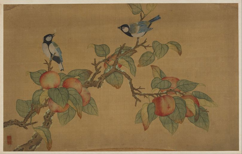 Wu_Zhang_-_Birds_and_Fruit_-_Google_Art_Project