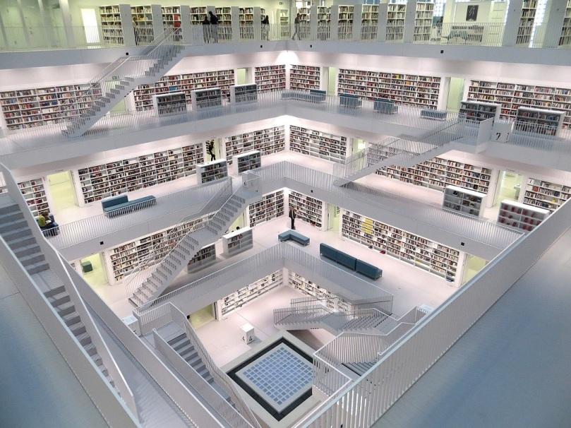Biblioteca en Stuttgart