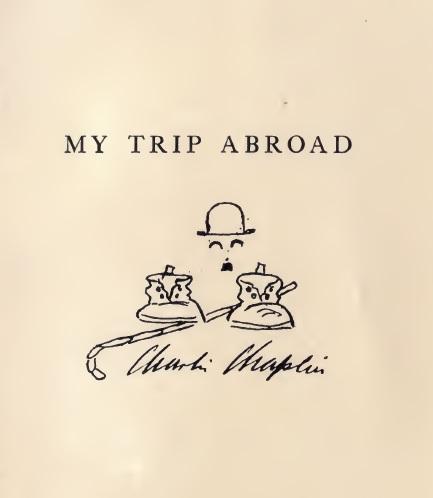My trip abroad