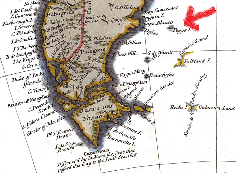 Pepys Island