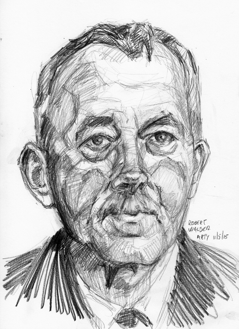 Robert Walser by Arturo Espinosa