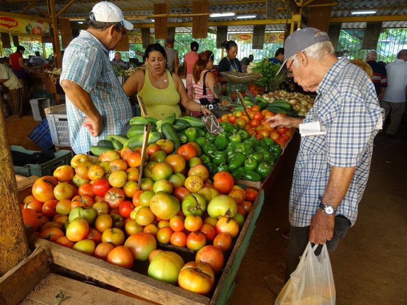 Mercado en La Habana