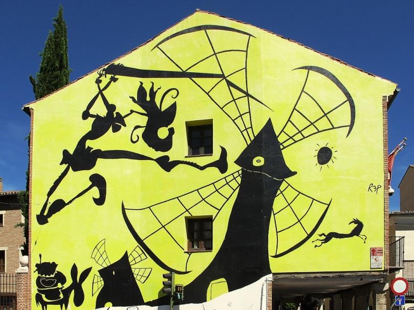 Mural de Rep en Alcalá de Henares