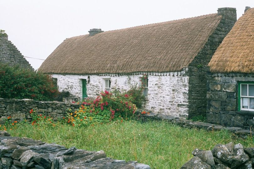 Synge cottage in Inishmann