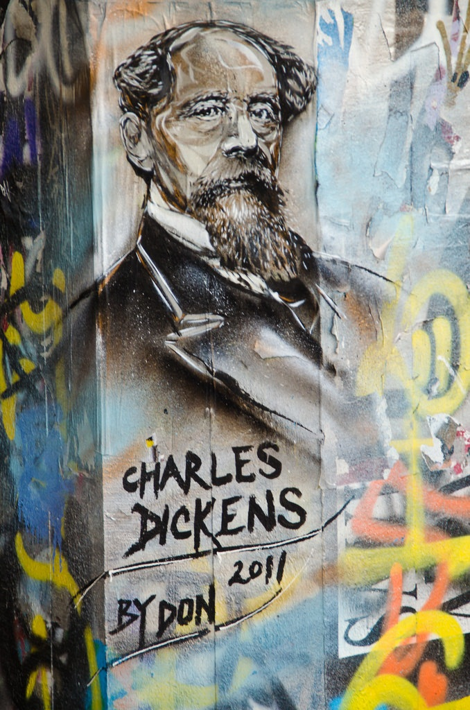 Dickens street portrait by Don
