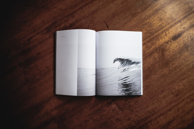 Sea wave book by Andrew Neel