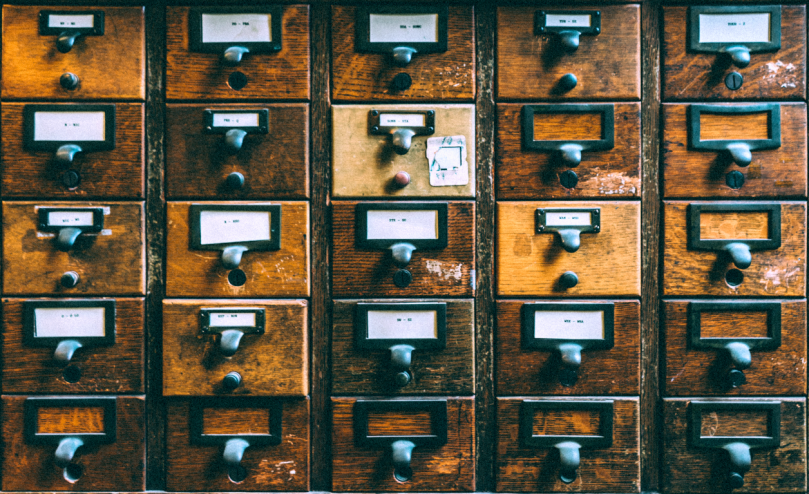 Picture of a library drawer by Sanwal Deen