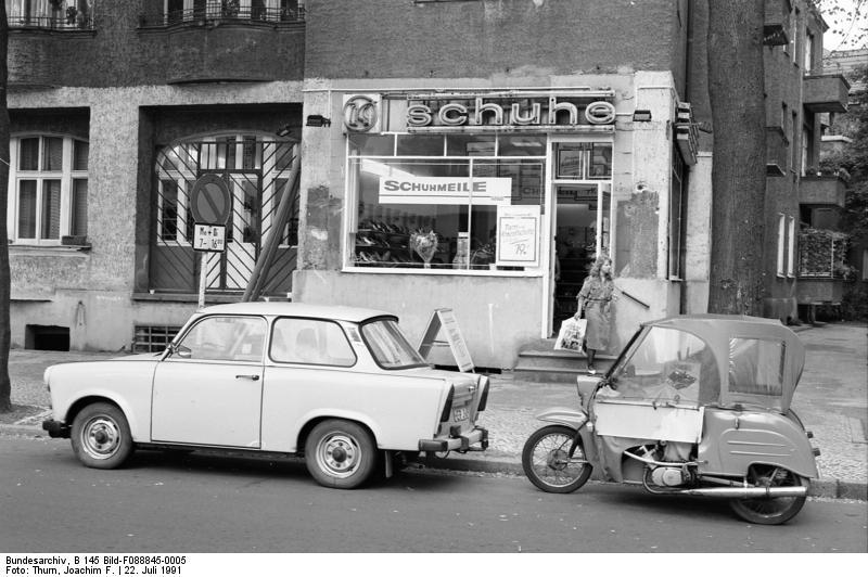 Imagen de Berlín en 1991
