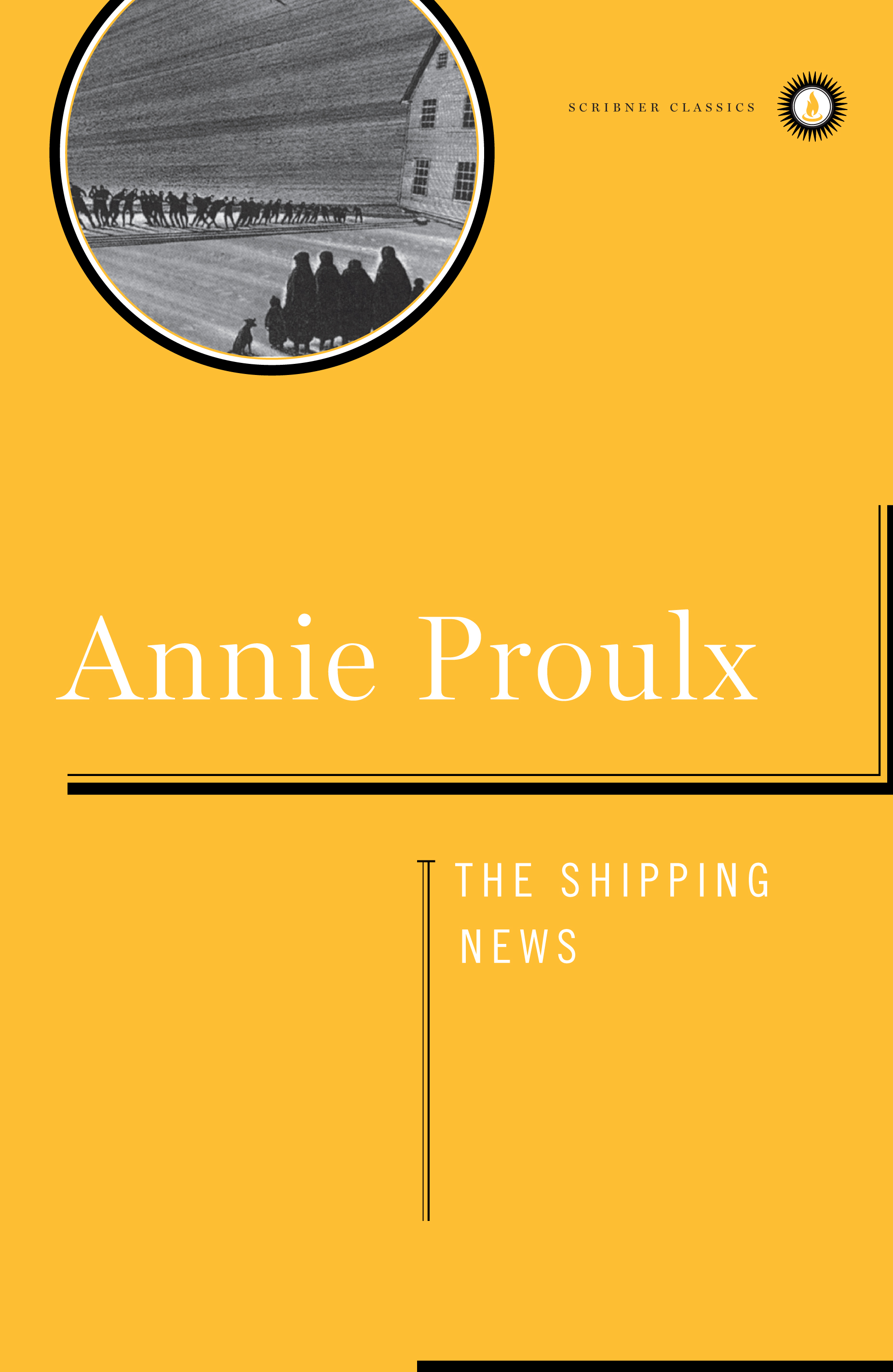 The shipping news cover book
