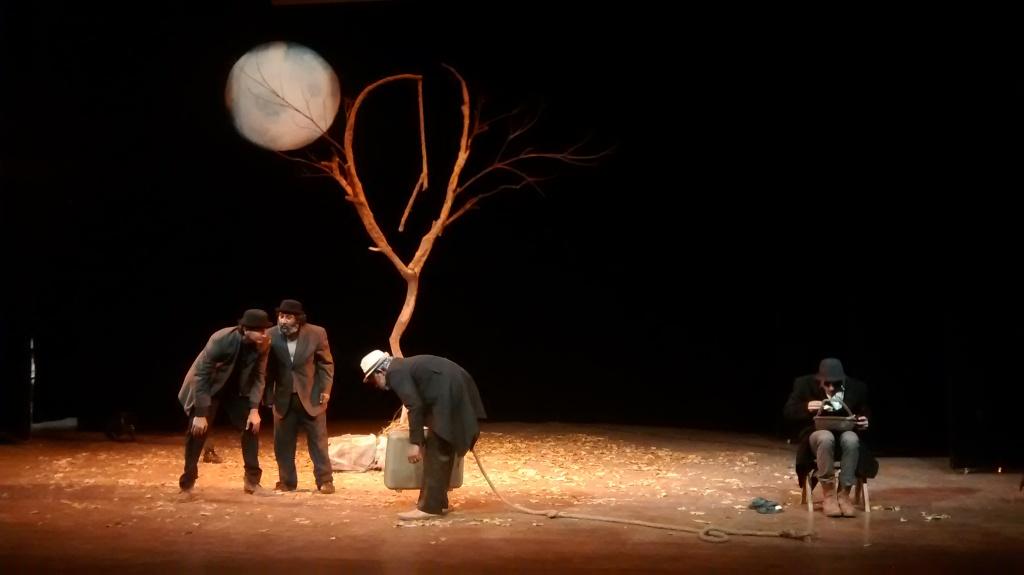 Imagen de la obra teatral Esperando a Godot