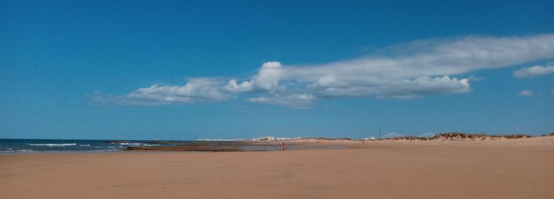Cambio de estación en la playa
